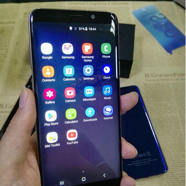 Günstigstes 6,2-Zoll-Goophone S10 plus S10 + 1 GB 8 GB 512 GB HD-Bildschirm anzeigen Android 3G entsperrt SmartPhone Factory Direct