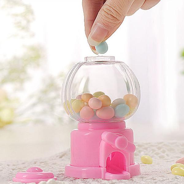 Mini lindo bebé precioso caja de almacenamiento de caramelo / caja de dinero del Banco Candy Candy Machine regalos para los suministros Party Kids juguete