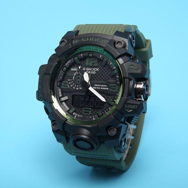 Роскошные Мужские часы Военные Спортивные часы светодиодный цифровой 50M водонепроницаемый вскользь Часы S Shock Часы Мужской relogios Часы Человек Мужчина для Релох Hombre