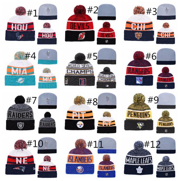 Winter Beanie Hats for Men Knitted Wool Hat Gorro Bonnet with Beanie in sotck fast shipping Winter Warm Cap