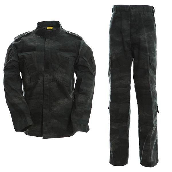 a tacs le camo men clothes tactical uniform clothing army combat men's jacket+pants thumbnail