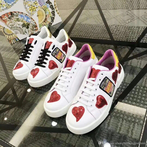 New Luxury Arena Sneaker Shoes Runner Red Mesh Balck Leather Kanye West Race Runners Men's Walking Casual Trainers Party Dress 35-40 1153253