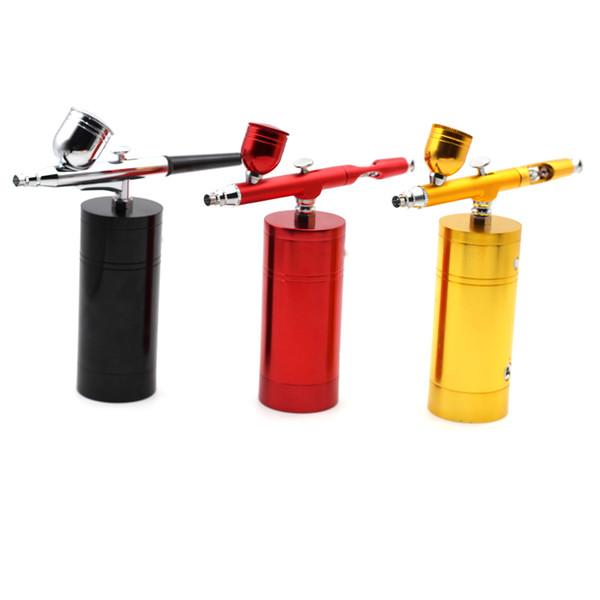 Kit Wireless Mini Airbrush Com recarregável Airbrush Compressor spray caneta para Nail art Coloring Tinta Facial bolo