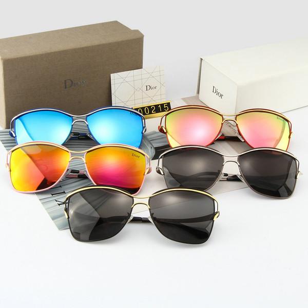 Старший дизайнер новый высококачественный личный стиль мужчины за рулем солнцезащитные очки роскошные солнцезащитные очки 5 цветов по выбору