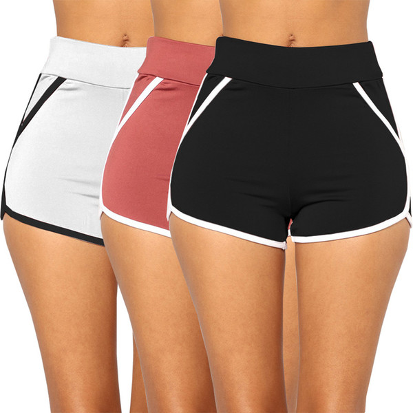 Women Summer Beach Shorts Sexy Sport Yoga Shorts Go dry Running Sportswear Athletic Workout Gym hot Short Fitness Clothes