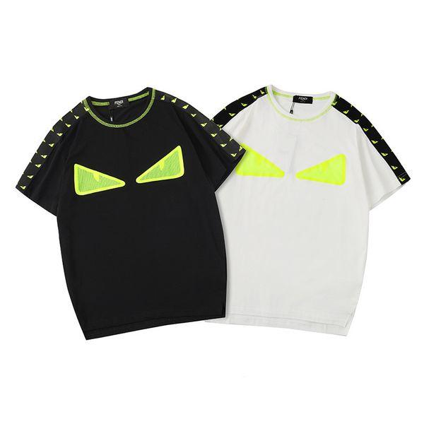 Mens Tshirt Summer Top Quality Shirt Fashion Eyes Printed Mens Tee Shirts Tops T-shirt Size S-XXL