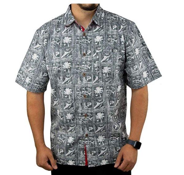 2020 men fishing shirt men's fishing shirts clothing men's fish market cotton shirt breathable camisa usa size l-2xl thumbnail