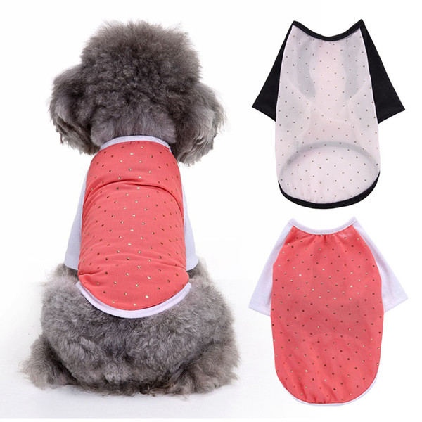 Summer Cool Tshirt Pet Dog Clothes for Small Dogs Pets Clothing Chihuahua Sweater Yorkshire Apparel Pug Costume