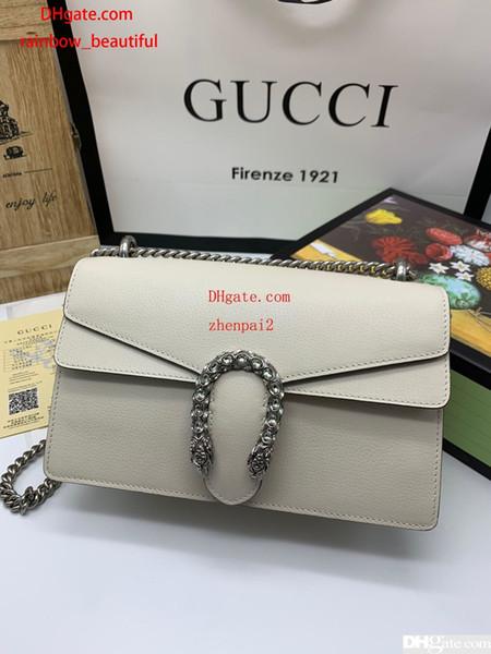 В 2019 году высокое качество, кожа, мода, Tophigh-end, мужская и женская сумка G, сумка, сумка на плечо, рюкзак, модель 400249, размер 28см17см9см.
