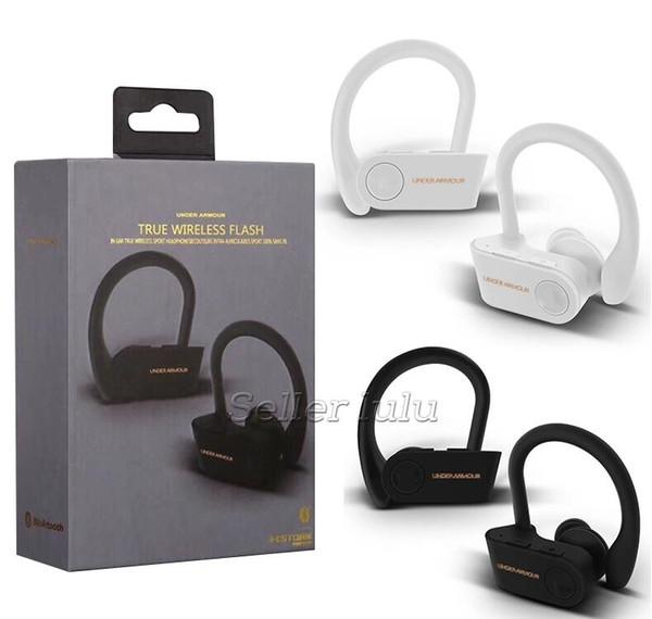 VERDADERO SIN FLASH Auriculares Blutetooth 5.0 Gaming Headset auriculares portátiles de doble oído para IOS y Android
