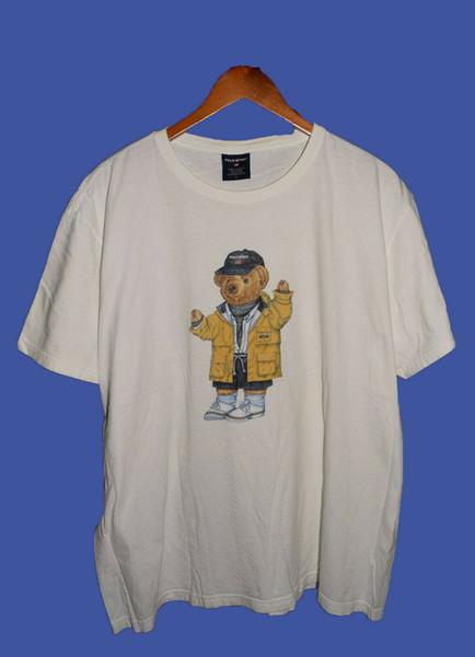 Maglietta vintage RARE Polo Lauren Sport Bear TAGLIA S-2XL REPRINTCompedizione gratuita Maglietta casual Unisex Casual top