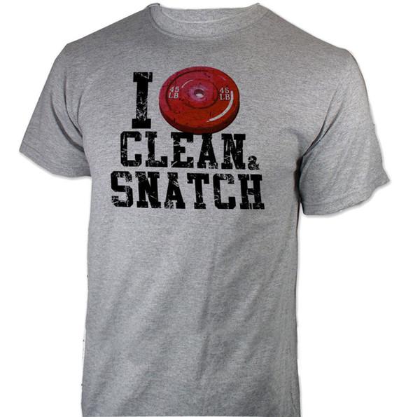 T-Shirt ideale per allenamento con strappi, allenamento per la forza di Crossfit