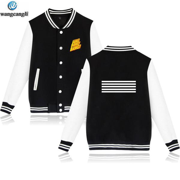 BIGBANG sweatshirt baseball Jacket women/men korean Idol winter hip hop uniform coat fashion funny popular kpop Jackets hoodies