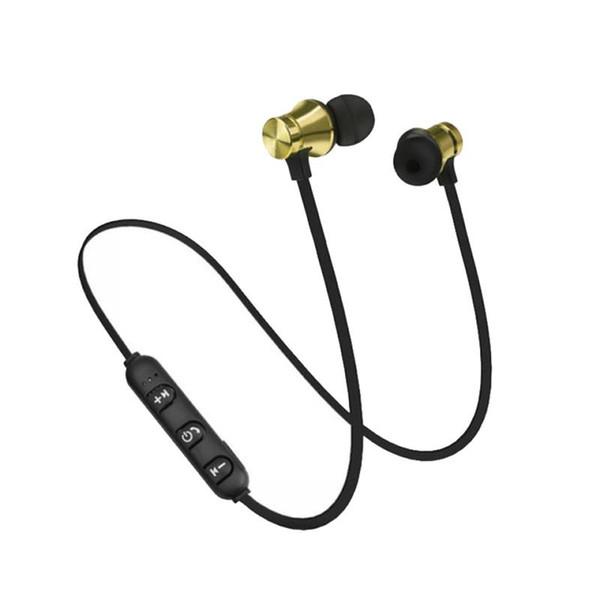 XT11 Kablosuz Bluetooth kulaklık Spor Koşu Manyetik kulaklık kulaklık kulakiçi BT 4.1 Stereo MIc ile iphone X 8 Samsung Için paket