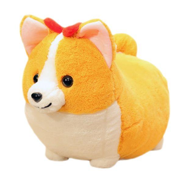 Cute Short Legged Peach Heart Butt Corky Stuffed Doll Soft And Comfortable Sofa Cushion Pillow Children's Room Decoration Gift