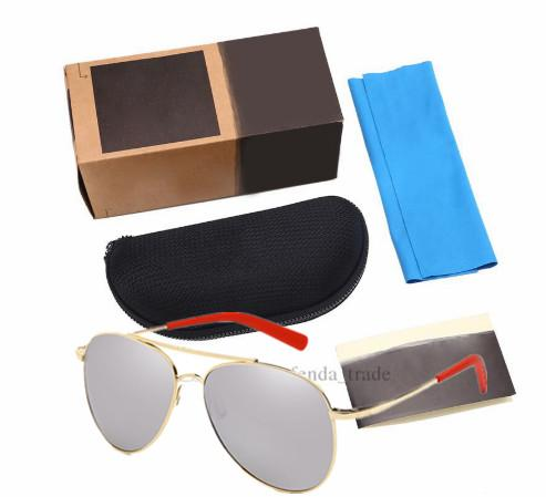 5 color ungla e men uv400 polarized eyewear fa hion de igner driving ungla e for men mirror male ungla e oculo 5pc package, White;black