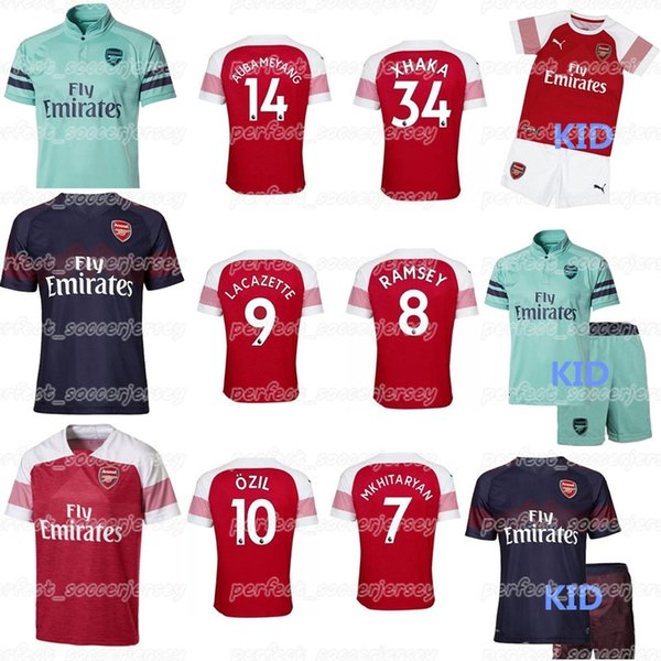 various colors 7f3ca d25d2 2019 2018 2019 Best Selling Soccer Jersey 14 AUBAMEYANG 7 MKHITARYAN 9  LAVAZETTE 10 ÖZIL Men'S And KID'S Football Shirts From  Perfect_soccerjersey, ...