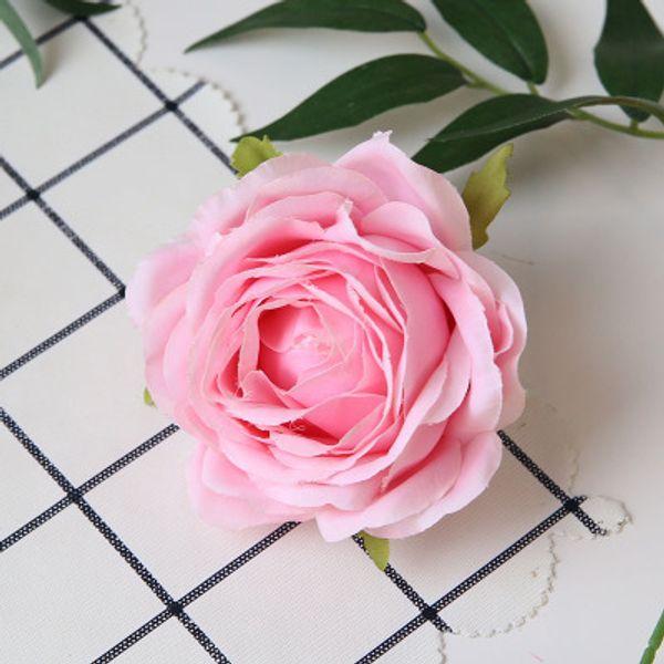 9cm-2 장미 꽃 머리