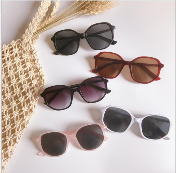New fashion damen big box unregelmäßigen sonnenbrillen retro frauen rahmen brille