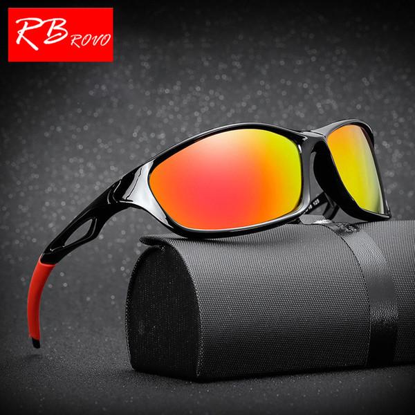 RBROVO 2018 Outdoor Zonnebril Mannen / Vrouwen Merk Diseñador Klassieke Zonnebril Reizen Rijden Bril UV400 Bril Oculos De Sol
