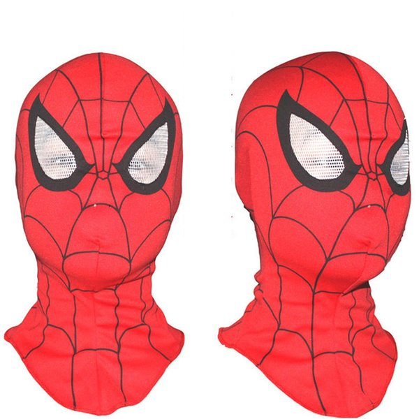 Free shipping Cosplay children and adult Spiderman mask /Spider-Man Gloves Cosplay Halloween Party Supplies