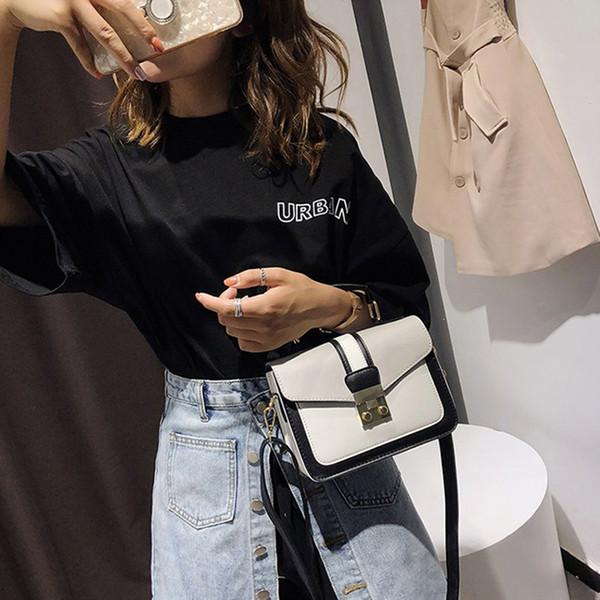 2019 nuove donne borsa borsa alla moda con colori abbinati donne borse a tracolla borsa da sera borse da sera del pacchetto del partito