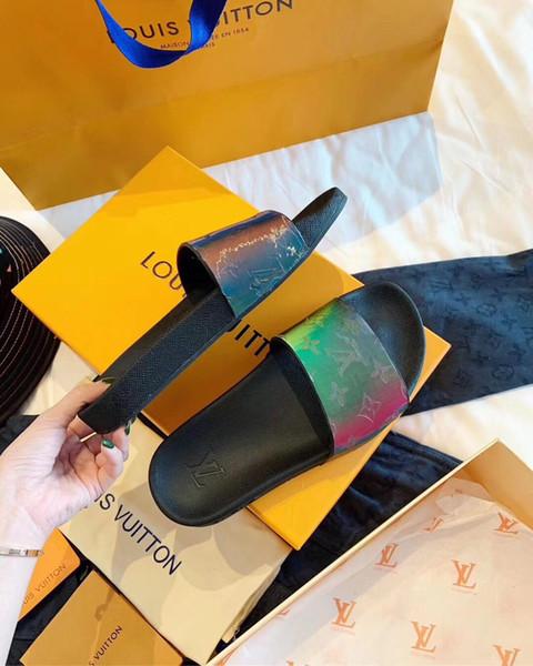2019 yeni bahar ve sonbahar bayanlar lüks rahat ayakkabı, tasarımcı yüksek katında açık seyahat ayakkabılar orijinal kutusu