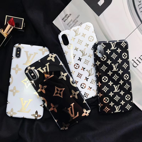 19ssdesigner One Piece Mode Luxus Designer Telefon Fällen für iPhone XSMax XR XS X 8 8plus 7 7plus 6s 6splus 6 Rückseite Handy Fall