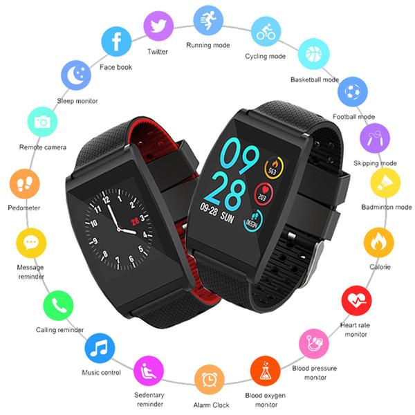 Новые смарт-часы Мужчины Женщины монитор сердечного ритма водонепроницаемый спортивные часы смарт-часы фитнес-трекер Smartwatch для IOS Android