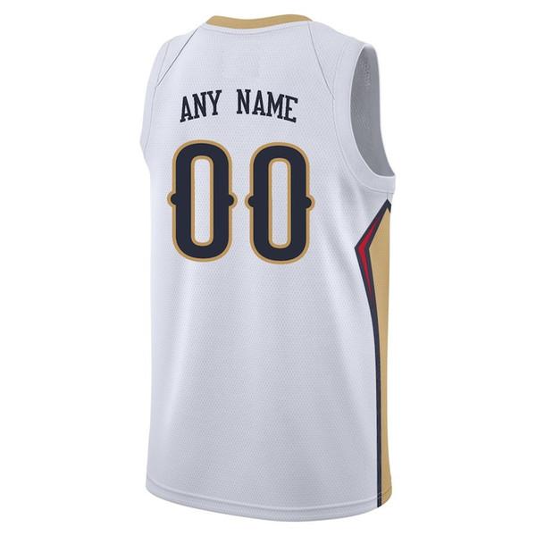 Compre Camisetas De Baloncesto Personalizadas Nueva Orleans Para ... 660e07b58917c
