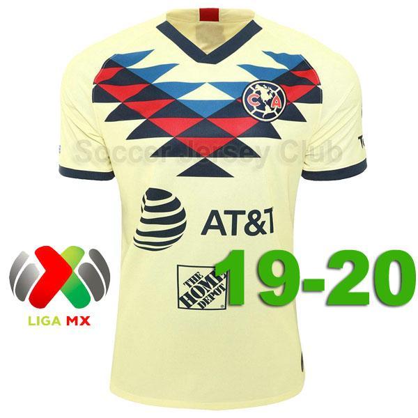 Club America 2019/20 Home مع MX Patch