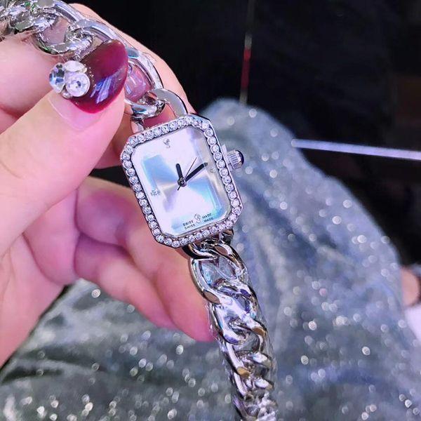 2019 Bracelet Femmes Montre De Luxe Montres Beau Quartz Rose Or / Argent / Or Robe Montre Montre Relojes De Marca Mujer Cadeau pour les filles