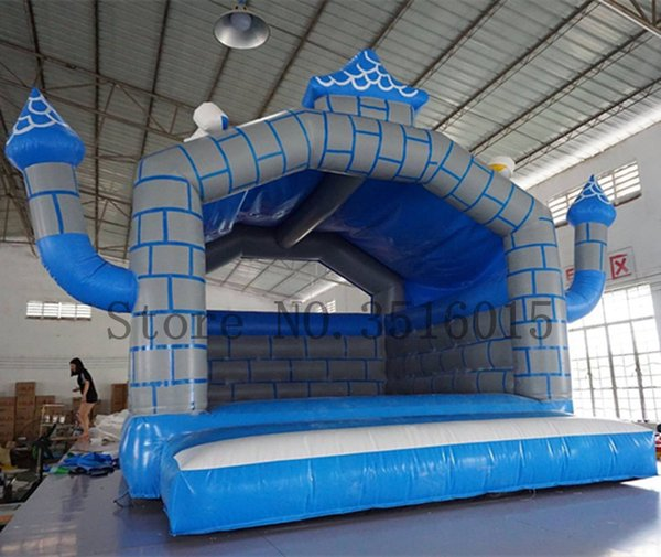 Free Shipping Inflatable Bouncer Kids Bouncy Castle Bounce House for Party Events Inflatable Trampoline With a Blower