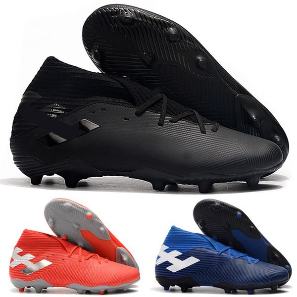 2019 Top Quality Mens Soccer Cleats Nemeziz 19.3 Laceless FG Soccer Shoes Nemeziz Messi 19.3 Tango Football Boots Scarpe DA Calcio From Utakata,