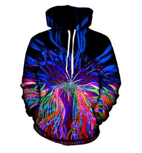 Fashion Clothing Music Festival Light Show Trippy Men&Women Hoodies Unisex Casual Style 3d Print Hoodie Sweatshirts Jacket Pullover Tops