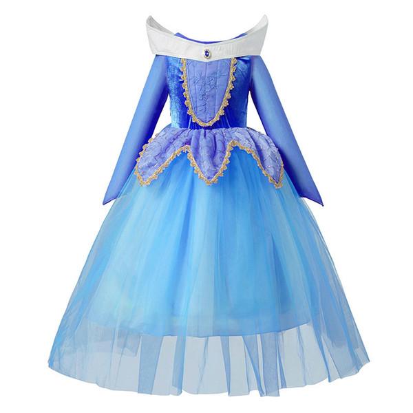 blue aurora dress 2