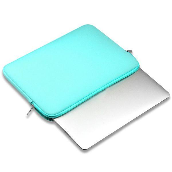 "Portable Zipper Sleeve Laptop Case Pouch For Macbook Laptop AIR PRO Retina 11"" 12"" 13"" 14"" 15"" 15.6 inch Notebook Bag 3 Color"