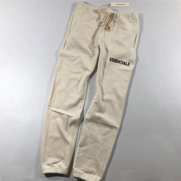 Fear Of God Sweatpants Men WomenHigh Quality Essentials Casual Joggers Drawstring Pants Trousers Fear Of God Sweatpants