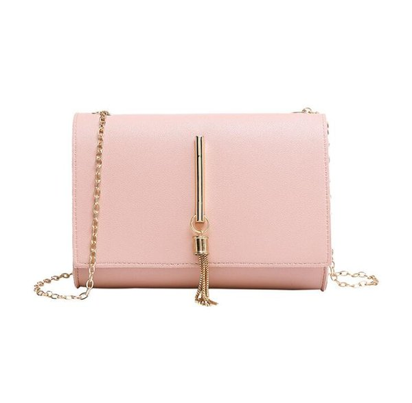 Spring and summer single shoulder diagonal chain ladies change small square bag small fresh fashion gift bag