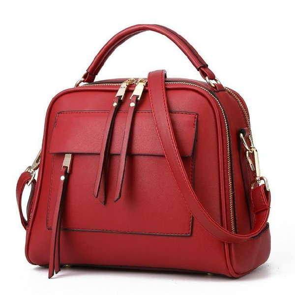 In The Spring Of Nice The New Trend Of Retro Bag Pocket Bags And Ladies Handbag Shoulder Bag