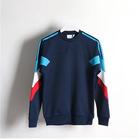 Style de marque Hommes Femmes Bleu Patchwork Sport Style Sweat-shirts XS-XL Mince Léger D'hiver Casual Sweat Manteau Tops Haute Qualité LSY198133