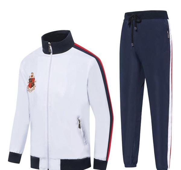 2019 pantalons vente de sport Sweats à capuche Sweats Hommes chaud sport Homme Polo Veste de jogging Costumes Survêtement Mens Designer Survêtements get