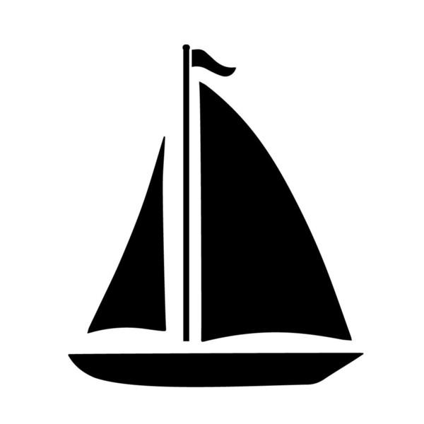 Sailboat Decal Window Bumper Sticker Car Decor Sail Boat Sailing Ocean Sea Beach