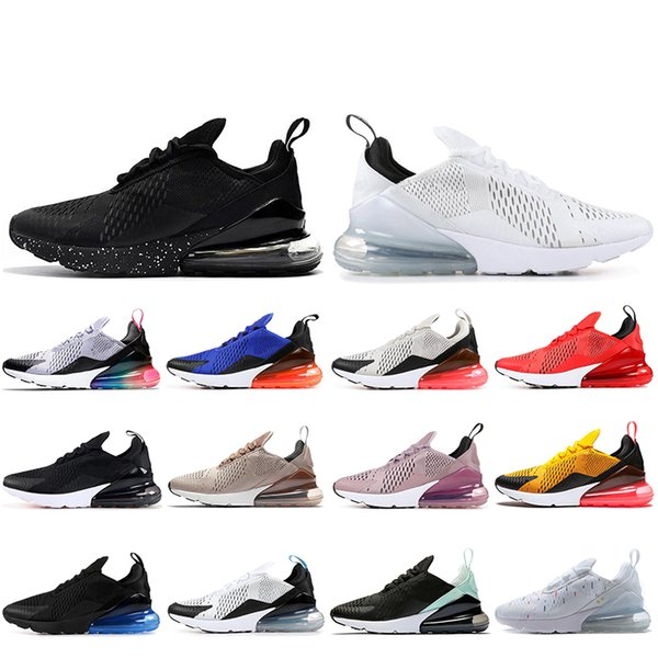 Großhandel Nike Air Max 270 2019 TN Cushion Sneakers Sport Designer Herren Laufschuhe Trainer Hot Punch Triple Weiß Road Star BHM Eisen Damen