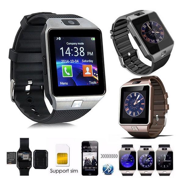 dz09 smartwatch montre intelligente reliant intelligemment relogio bluetooth relogios Android 2G GSM montre connecter montres
