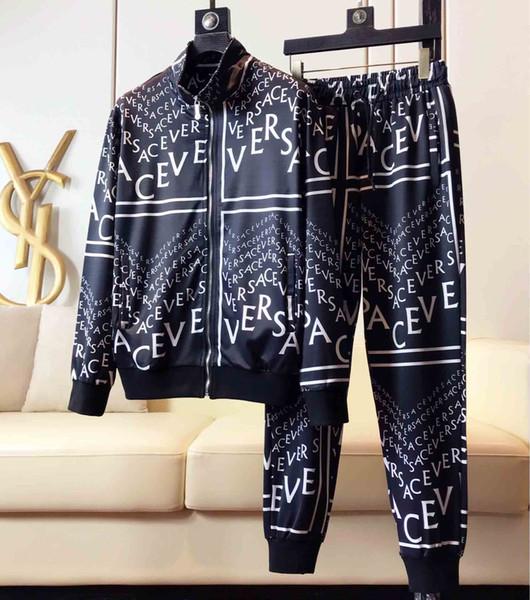 2019 yeni erkek tasarımcı blazer, lüks etiket tasarımcısı kapüşonlu, siyah sonbahar ve kış gündelik elbise, dokulu stil ceket, m-3xl ceket