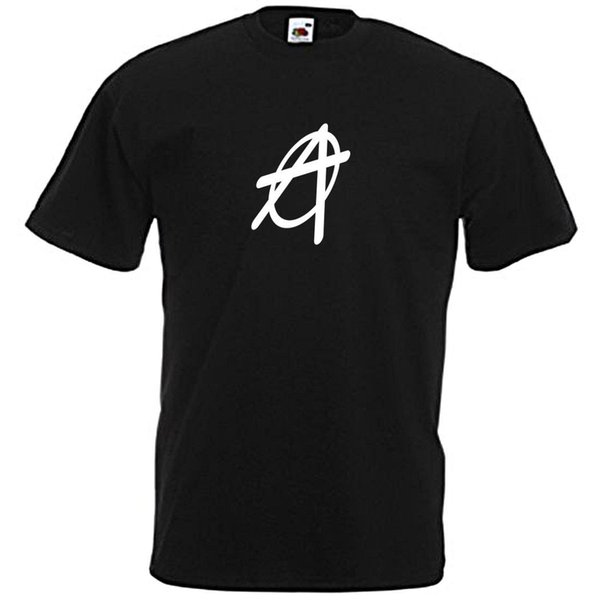 t-shirt Anarchy anarchie punk révolution Funny free shipping Unisex Casual Tshirt top