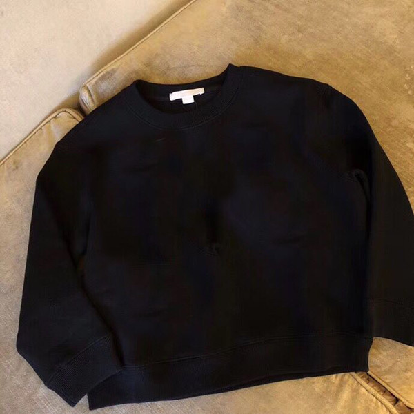 Kids Black Sweaters Kids Casual Sweaters For Winter Autumn Knitted Bottoming Boys Tops Clothes in Stock