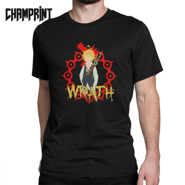 Men Wrath Meliodas T Shirts Seven Deadly Sins Anime Manga Japanese Otaku 100% Cotton Tops Short Sleeve Tee Plus Size T-Shirts T-Shirts Cheap T-Shirts Men Wrath Meliodas T Shirts Seven Deadly.We offer the best wholesale price, quality guarantee, professional e-business service and fast shipping . You will be satisfied with the shopping experience in our store. Look for long term businss with you.