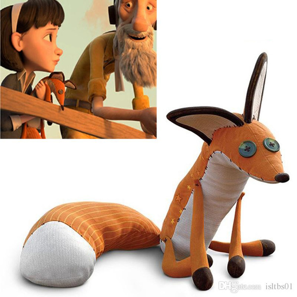 Le Petit Prince The Little Prince 45CM Fox Plush Dolls 40cm stuffed animal plush education toys for baby kids Birthday/Xmas